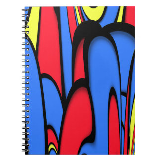 Bright  Colors Spiral Notebook