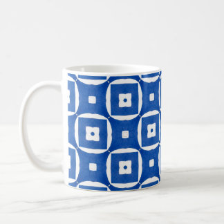 Bright Colourful Construction Paper Geometric Art Coffee Mug