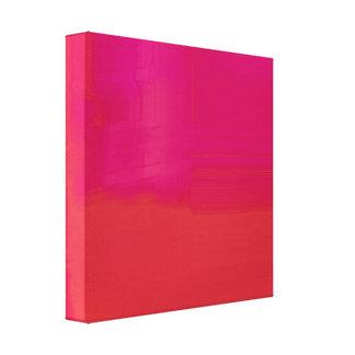 Bright Colourful Glitch Texture Canvas Print