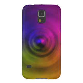Bright colours of spiral blur as an abstract galaxy s5 cases