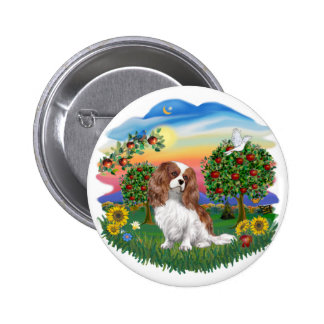 Bright Country - Cavalier - BL2 2 Inch Round Button