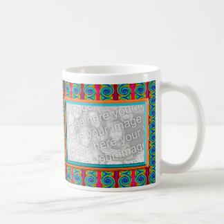 Bright Curls photo frame Classic White Coffee Mug