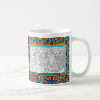 Bright Curls photo frame Basic White Mug