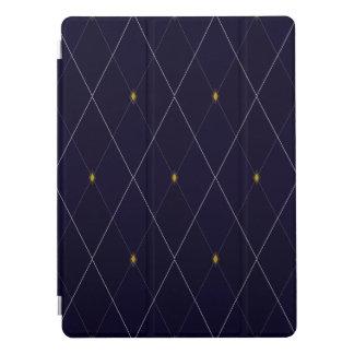 "Bright Diamond Navy Argyle 12.9"" iPad Pro Cover"