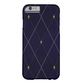 Bright Diamond Navy Argyle Barely There iPhone 6 Case