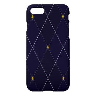 Bright Diamond Navy Argyle iPhone 7 Case