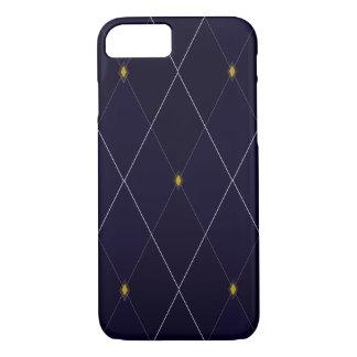 Bright Diamond Navy Argyle iPhone 8/7 Case