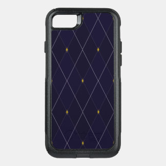 Bright Diamond Navy Argyle OtterBox Commuter iPhone 7 Case
