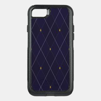 Bright Diamond Navy Argyle OtterBox Commuter iPhone 8/7 Case