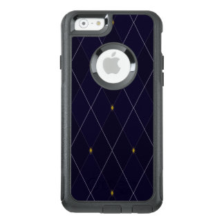 Bright Diamond Navy Argyle OtterBox iPhone 6/6s Case