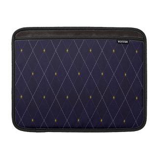 Bright Diamond Navy Argyle Sleeve For MacBook Air