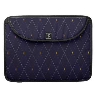 Bright Diamond Navy Argyle Sleeve For MacBooks