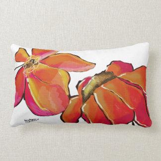 Bright Digital Floral Pillow