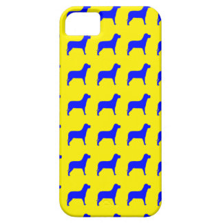 Bright Dog Pattern iPhone 5 Cases