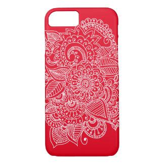 Bright Elegant Beautiful Paisley Doodle iPhone 7 Case