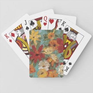 Bright Expressive Garden Playing Cards