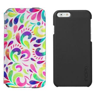 Bright extravaganza festive carnival color burst incipio watson™ iPhone 6 wallet case