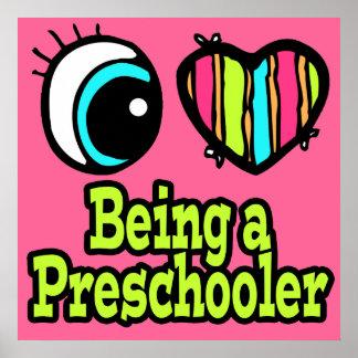Bright Eye Heart I Love Being a Preschooler Posters