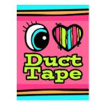 Bright Eye Heart I Love Duct Tape