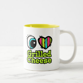 Bright Eye Heart I Love Grilled Cheese Mug
