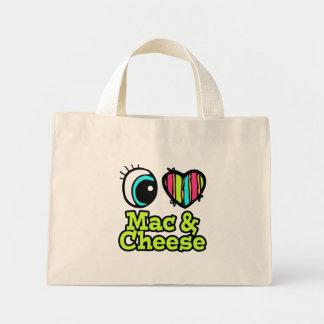 Bright Eye Heart I Love Mac and Cheese Tote Bags