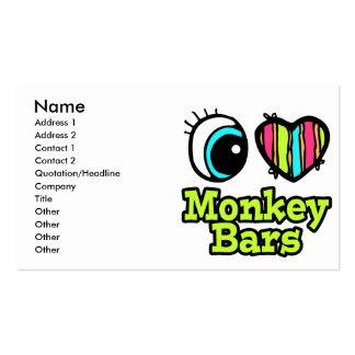 Bright Eye Heart I Love Monkey Bars Pack Of Standard Business Cards