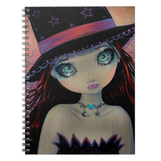 Bright Eyed Witch Notebook