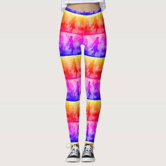Bright Fairy Yoga Pants. Leggings