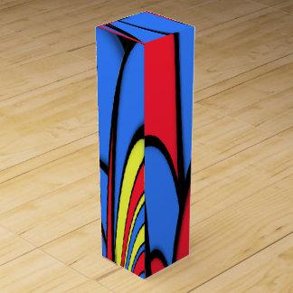 Bright  Festive Color Wine Gift Box