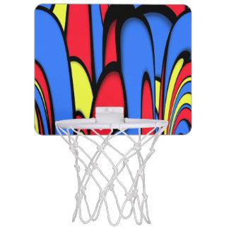 Bright  Festive Colors Mini Basketball Hoop
