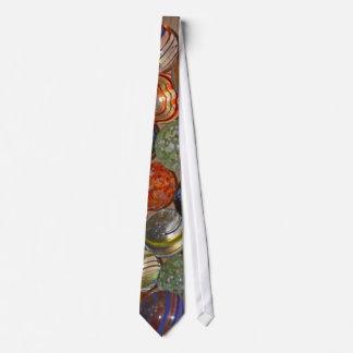 Bright Festive Marble Pattern Tie