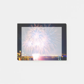 Bright fireworks | Quebec City Post-it Notes