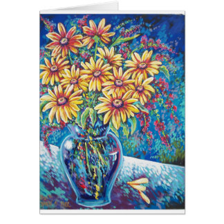 BRIGHT FLORAL CARD