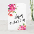 Bright Floral   Mother's Day Card