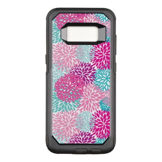Bright Floral pattern 2 OtterBox Commuter Samsung Galaxy S8 Case