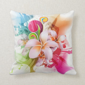 Bright Floral Pillow