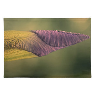 bright flower bud placemat