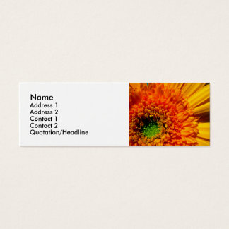 Bright Flower Profile Card