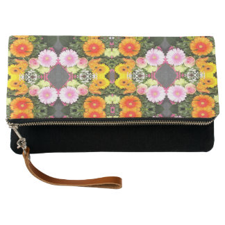 Bright Flowers Clutch Bag