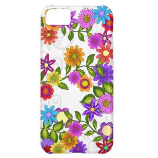 Bright Flowers iPhone 5C Cases