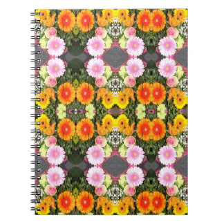 Bright Flowers Notebook