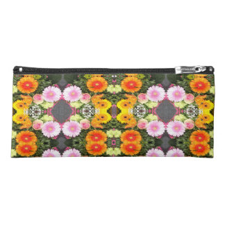 Bright Flowers Pencil Case