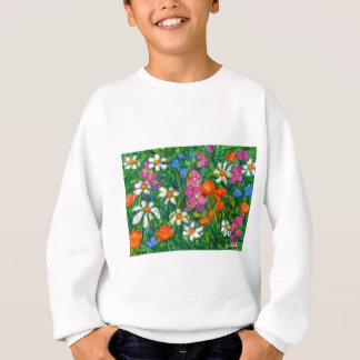 Bright Flowers Sweatshirt