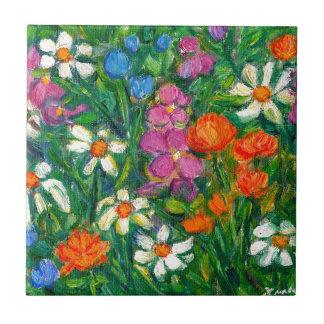 Bright Flowers Tiles