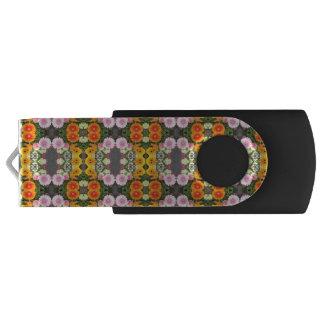 Bright Flowers USB Flash Drive Swivel USB 3.0 Flash Drive