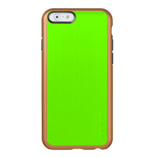 Bright Fluorescent Neon Green Incipio Feather® Shine iPhone 6 Case