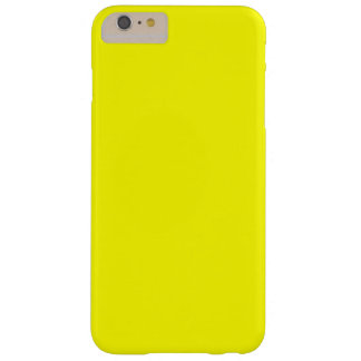 Bright Fluorescent Neon Yellow Barely There iPhone 6 Plus Case