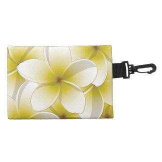 Bright Frangipani/ Plumeria flowers Accessory Bag
