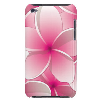 Bright Frangipani/ Plumeria flowers Barely There iPod Cases