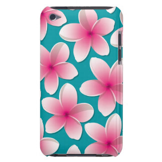 Bright Frangipani/ Plumeria flowers Barely There iPod Cover